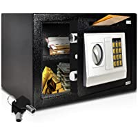SereneLife Drop Box Safe Box   Safes & Lock Boxes   Front Loading Safe Cash Vault Drop Lock   Safe Security Box…