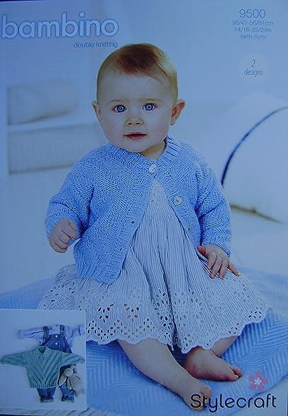 craftroom tejer - 2 diseños tejer patrón para bebé suéter y chaqueta ...