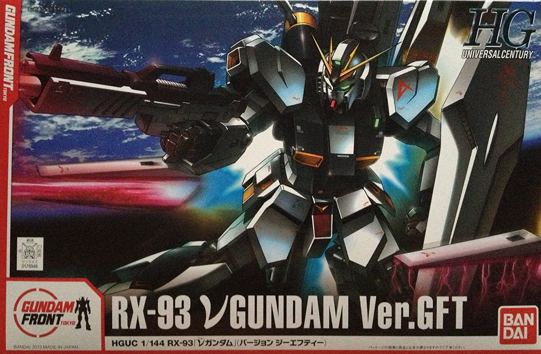 [Gundam Front Tokyo limited] HGUC 1 144 Gundam Ver.GFT  Plastic  (japan import)