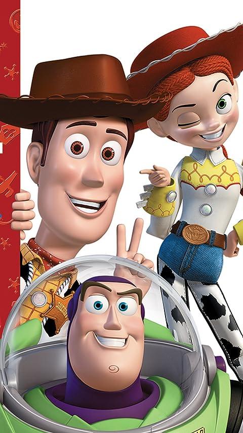 ディズニー 『トイ・ストーリー』バズ,ウッディ,ジェシー XFVGA(480×854)壁紙画像