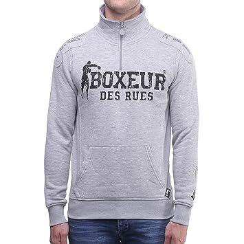 Boxeur des rues - Sudadera - para Hombre, Hombre, BXE-4649D, Mezcla de Grises, Medium: Amazon.es: Deportes y aire libre