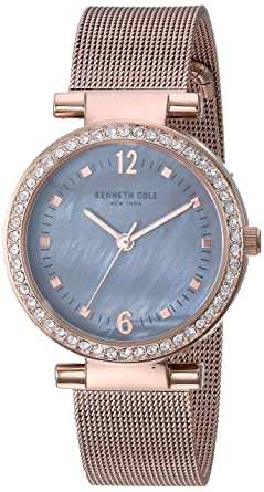Clever Ladies Kenneth Cole Steel Analogue Wrist Watch. Wristwatches