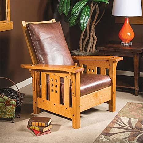 Woodworking Paper Plan For Modern Morris Chair