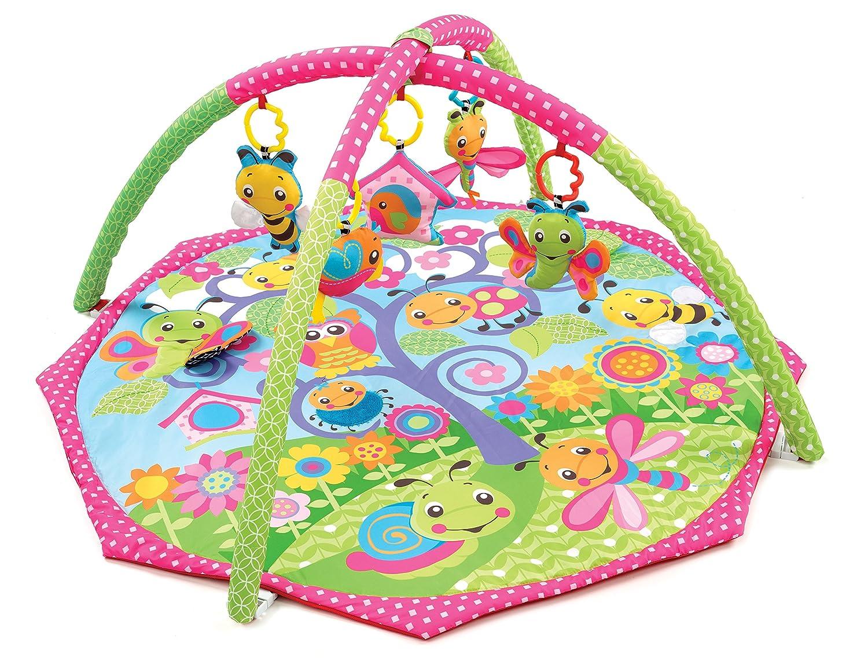 Playgro 0182655 - Alfombra de juego y gimnasio, diseño Bugs'n Bloom diseño Bugs'n Bloom