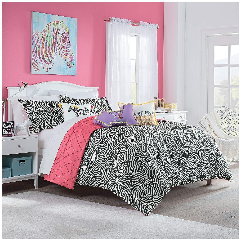 Waverly Wild Life 3pc Reversible Comforter Set, Full, Graphite