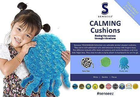 Senseez SENZ58728 Furry Cow Pillow