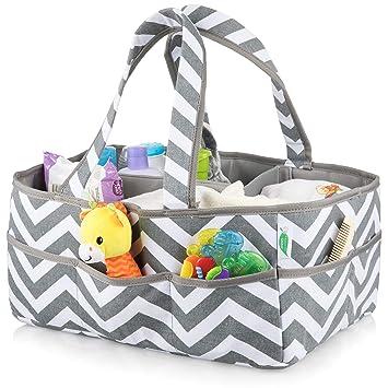 Amazon.com: Bolsa organizadora para pañales de bebé, tamaño ...