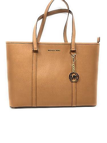 7f99b316ac4 Michael Kors Large Sady Carryall Shoulder bag (Acorn): Amazon.com.au ...