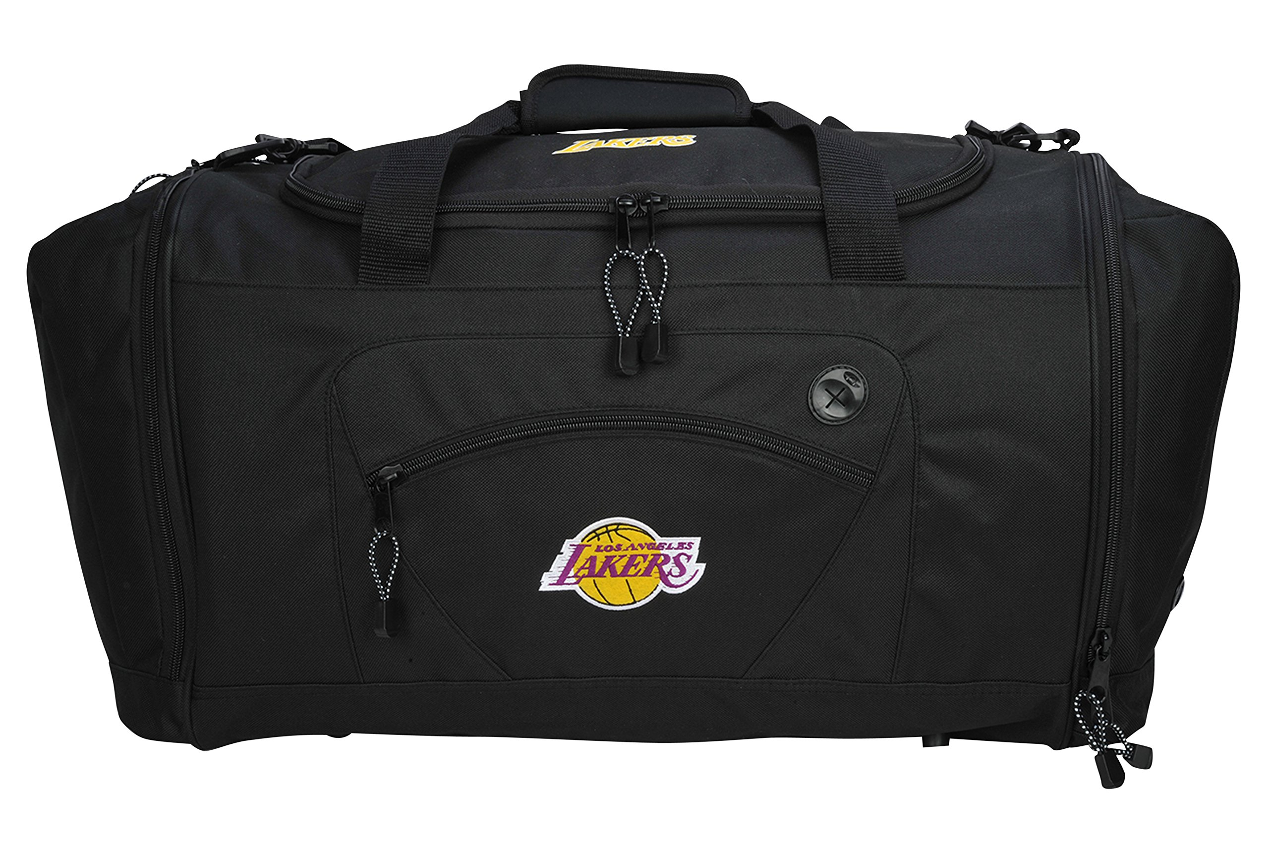 The Northwest Company Officially Licensed NBA Los Angeles Lakers Roadblock Duffel Bag