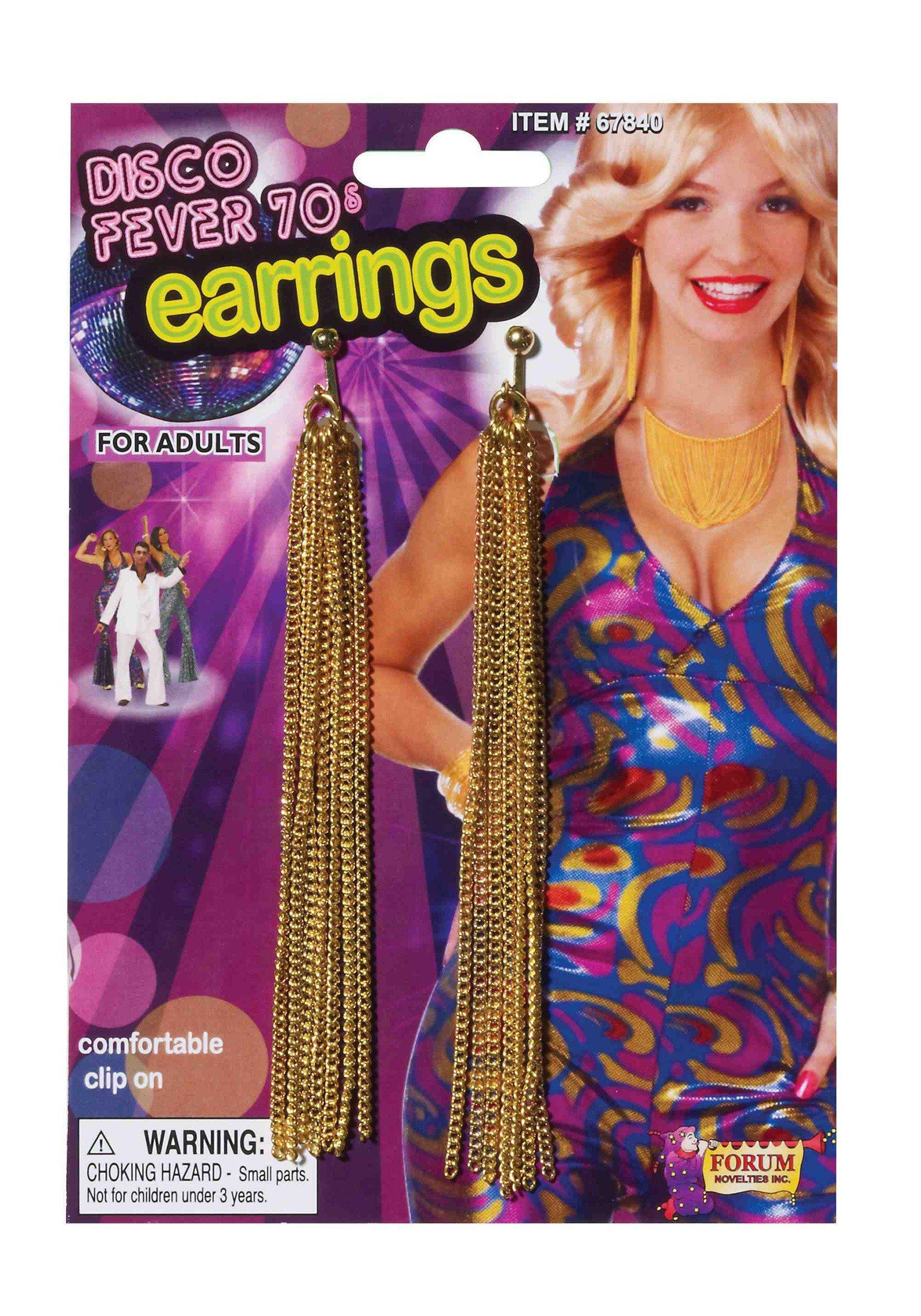 Forum Novelties Dangling Disco Earrings by Forum Novelties (Image #1)