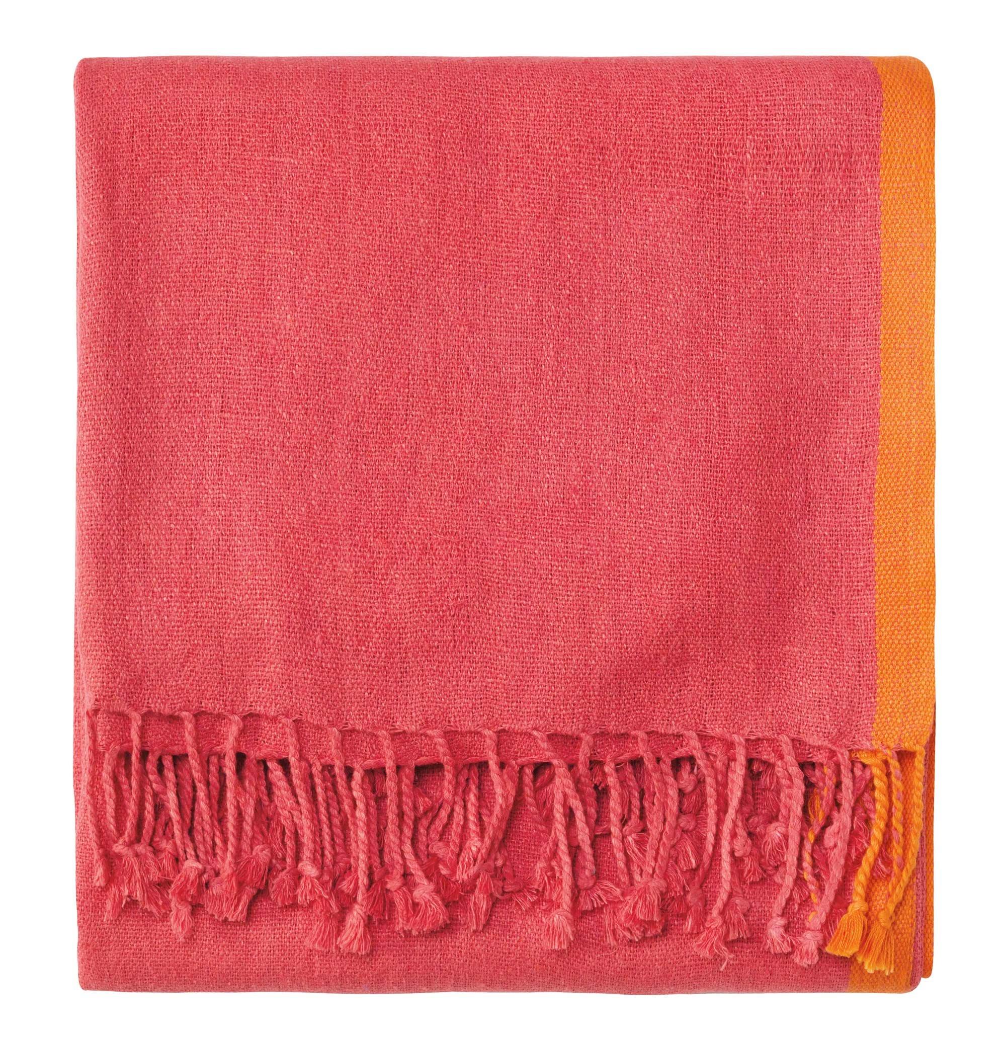 Company C Ridgely Throw Blanket, 0, Watermelon