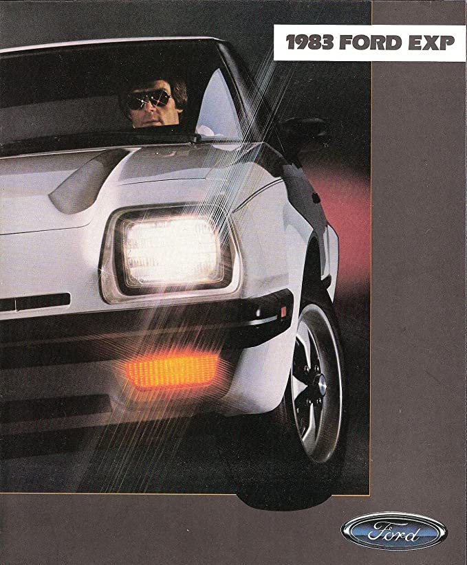 Amazon.com : 1983 FORD EXP SPORTS COUPE PRESTIGE COLOR SALES BROCHURE - 005 8/82 - USA - EXCELLENT!! : Everything Else