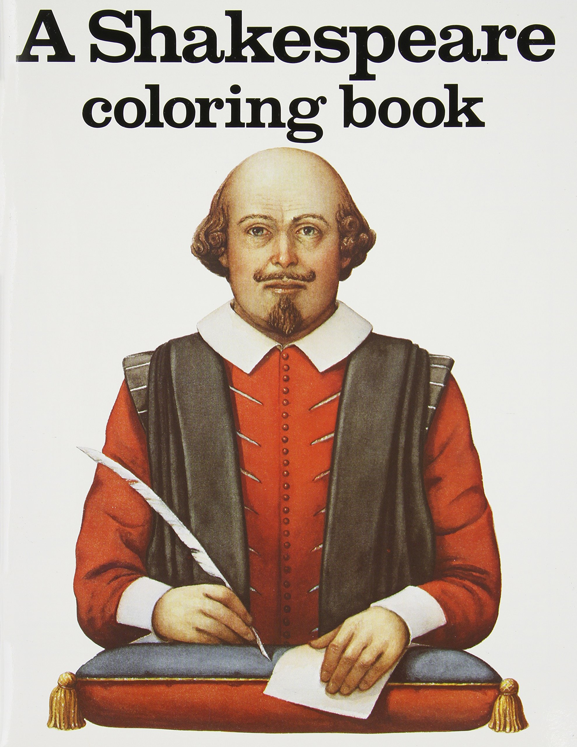A Shakespeare Coloring Book: Bellerophon Books, Harry Knill ...