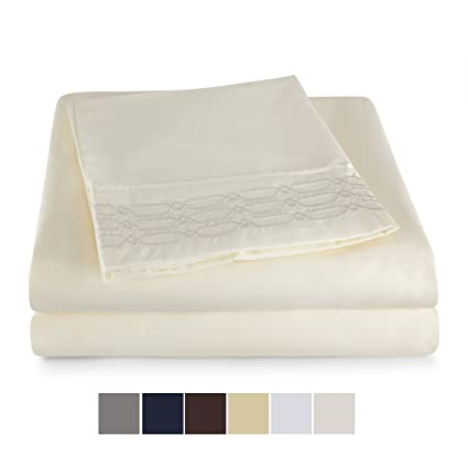 8eb56ce507 Image Unavailable. Image not available for. Color: Snuggle Sheet Sets Ultra  Soft Double Brushed Microfiber 1800 Bedding ...
