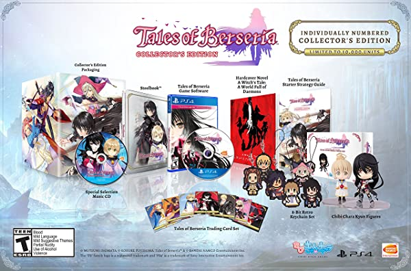 Tales of Berseria: Collector's Edition - Playstation 4