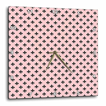 0543343787f60 Amazon.com: 3dRose Anne Marie Baugh - Patterns - Chic Black and Pink ...