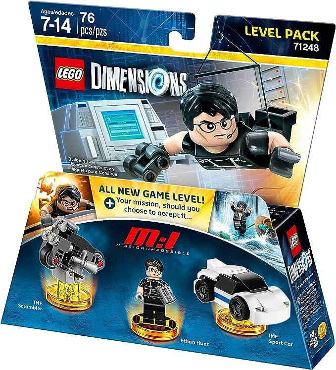 LEGO Warner Home Video - Juegos Dimensiones, misión Imposible Paquete de Nivel: Amazon.es: Juguetes y juegos
