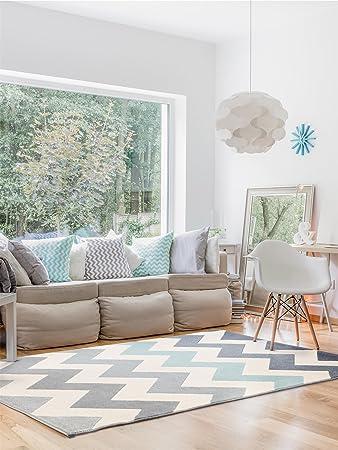 Benuta Teppich benuta teppich dessert blau 120x170 cm moderner teppich für wohn