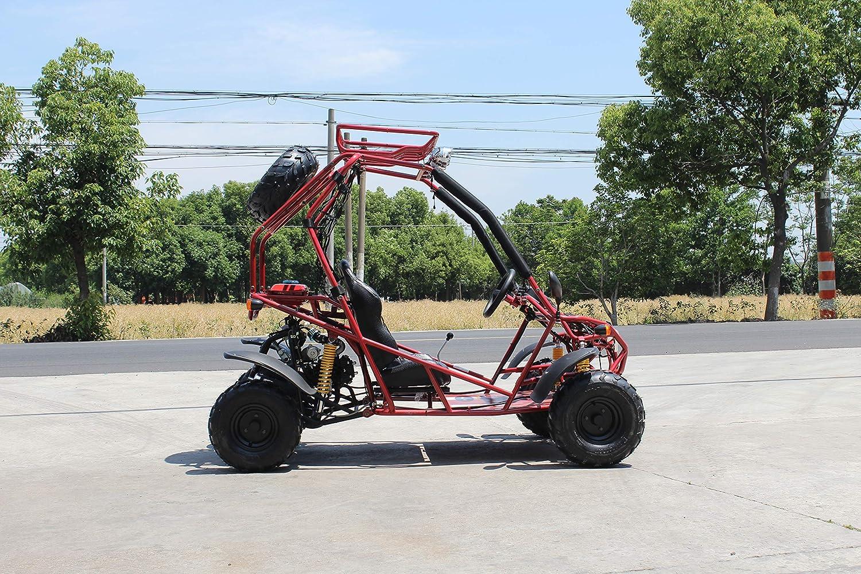 Amazon.com: HML MOTO 125 cc Jóvenes Dos Asiento Go Kart ATV ...