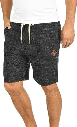 Solid Aris Pantalón Corto Chándal Sweat- Bermudas para Hombre ...