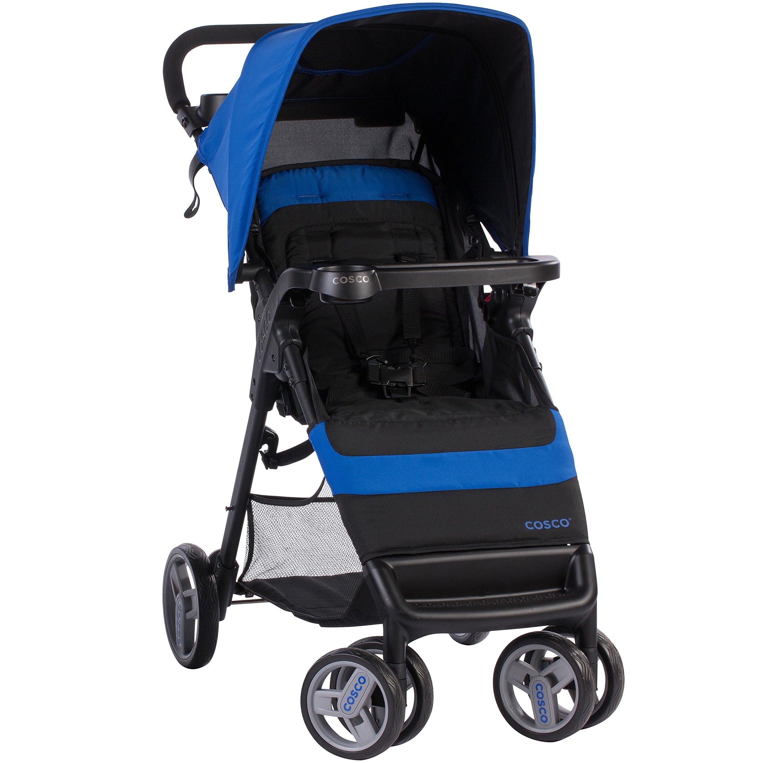Cosco Simple Fold Stroller, Sapphire Sea