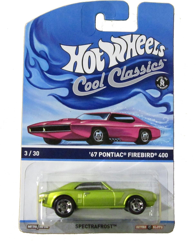 Hot Wheels Cool Classics '67 Pontiac Firebird 400 3/30 Spectrafrost by Hot Wheels