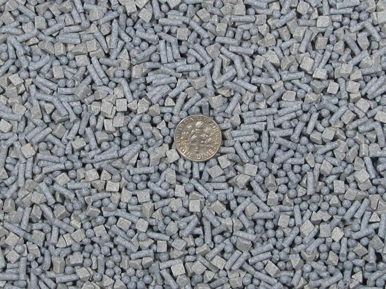 8 Lb 3 mm Sphere /& 2.5 X 8 mm Pins Fast Cutting Abrasive Ceramic Porcelain Tumbling Tumbler Tumble Media 4 mm Triangle