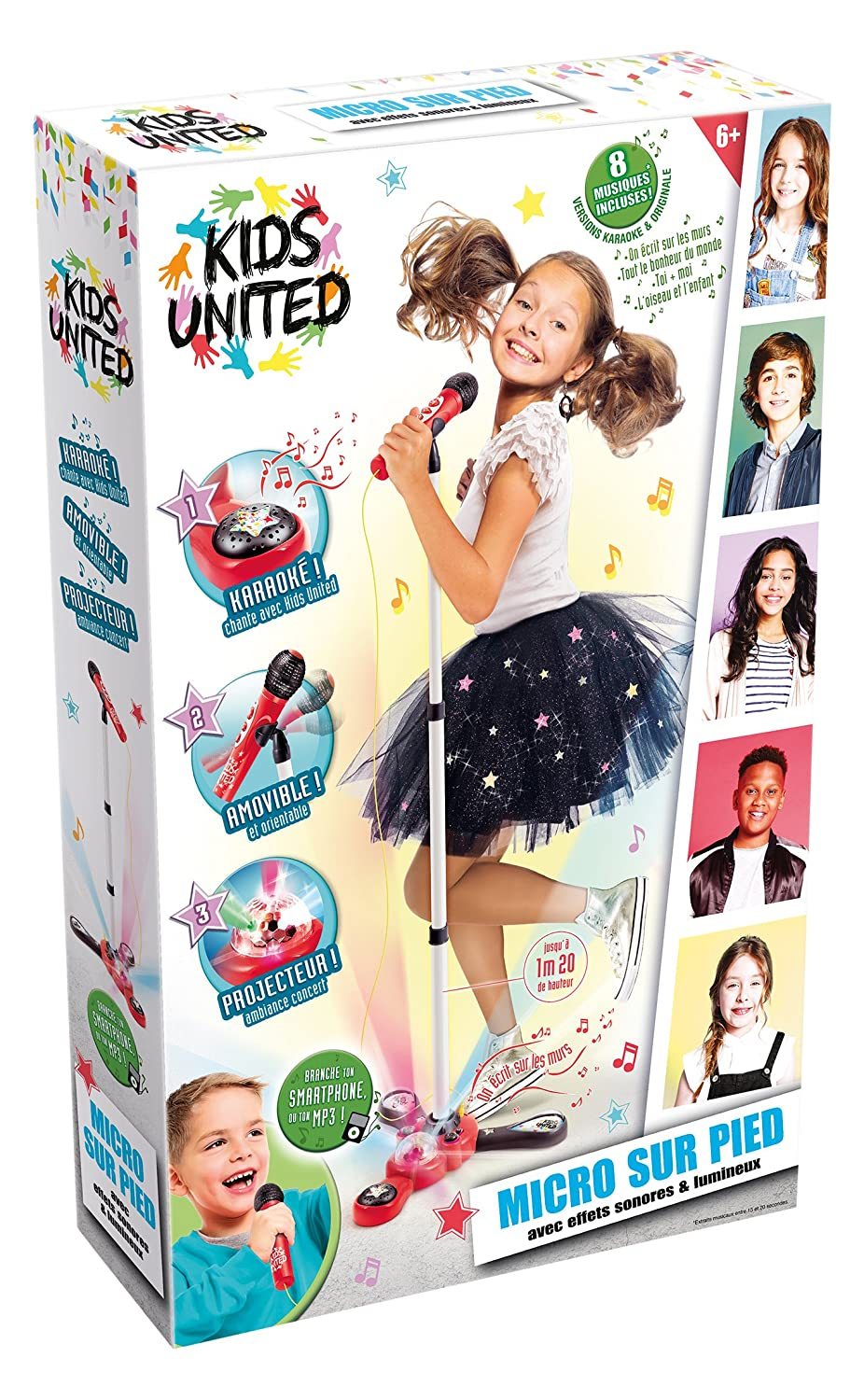 Canal Toys–ct07202–Electrónica–Kids United–Micro de pie