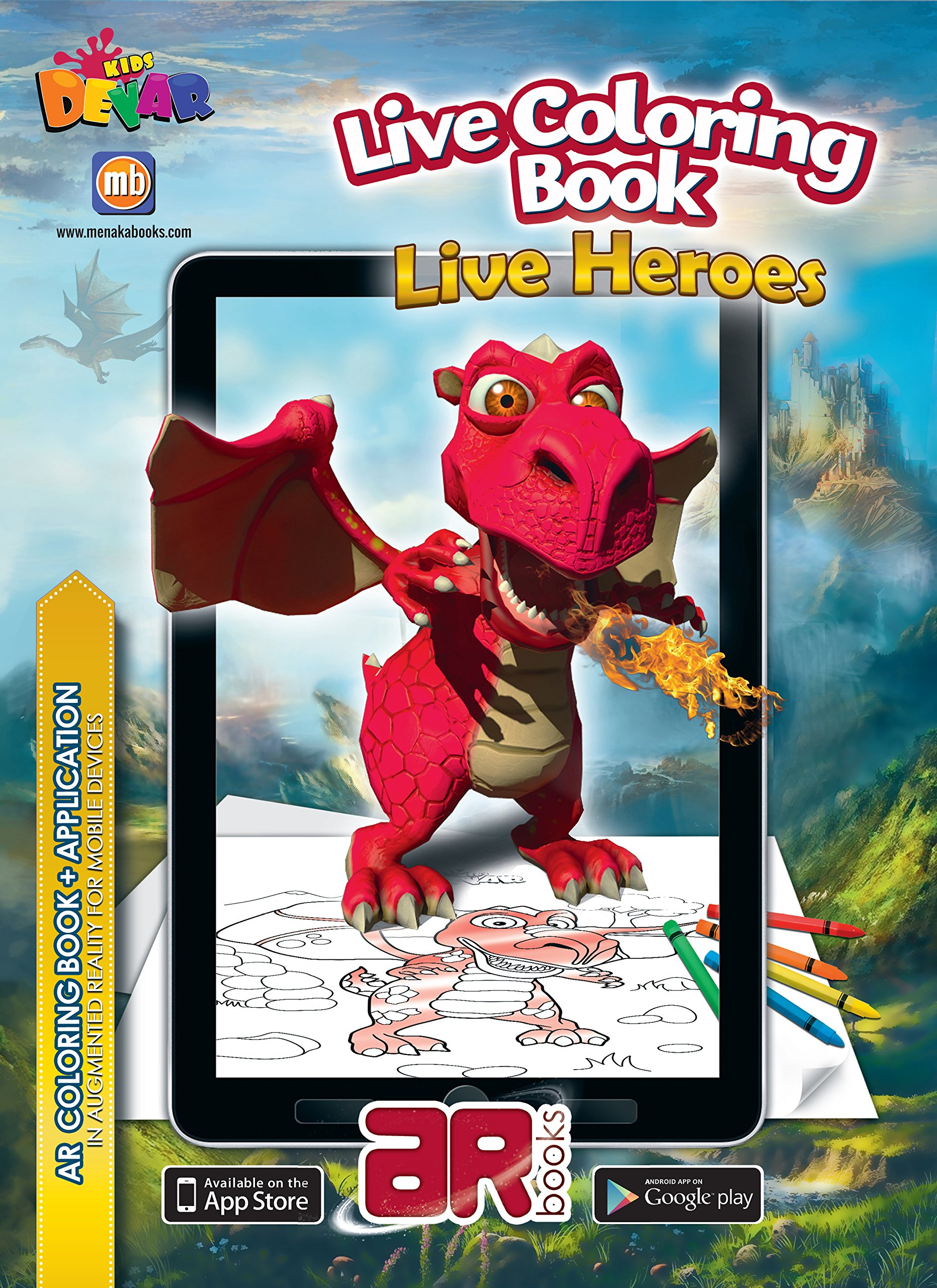 Buy Live Coloring Book Heroes Online At Low Prices In India