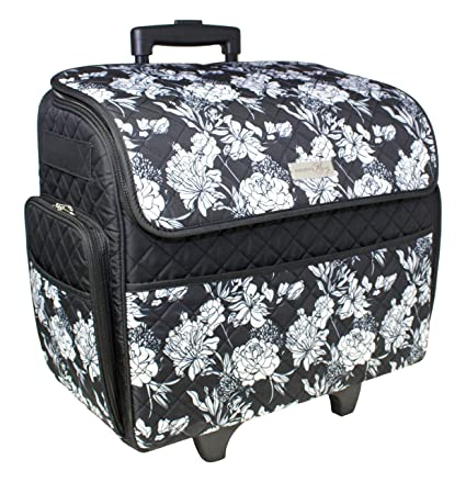 Amazon Everything Mary Rolling Sewing Machine Tote Simple Sewing Machine Bags On Wheels