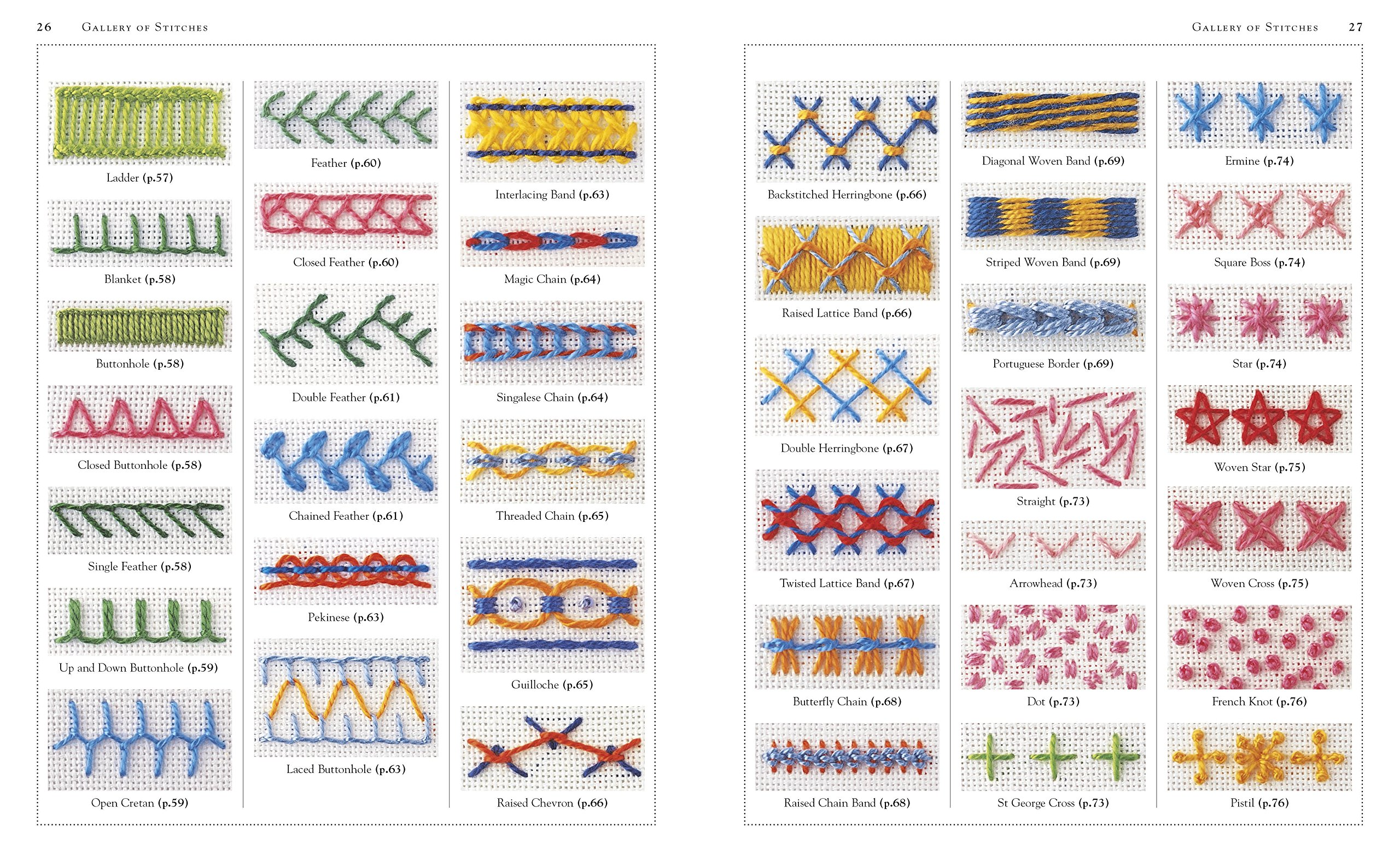 Embroidery Stitches Step by Step  Ganderton, Lucinda Amazon.de ...