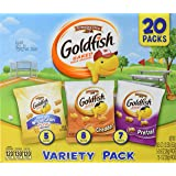 Pepperidge Farm Goldfish Multipack, Sweet & Savory, 19.5 Ounce