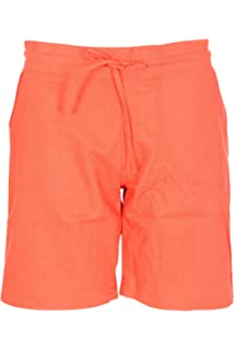 05cc9c54d3630f Ladies Summer Knee Length Linen Shorts Womens Elasticated Waist ...