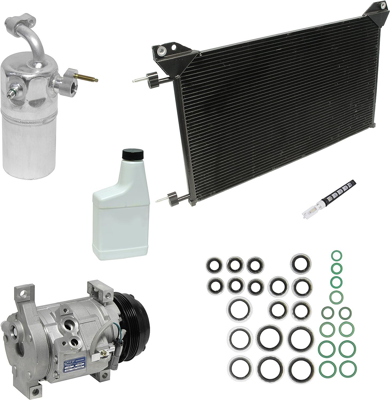A//C Compressor /& Component Kit-Compressor-Condenser Replacement Kit UAC KT 4037A