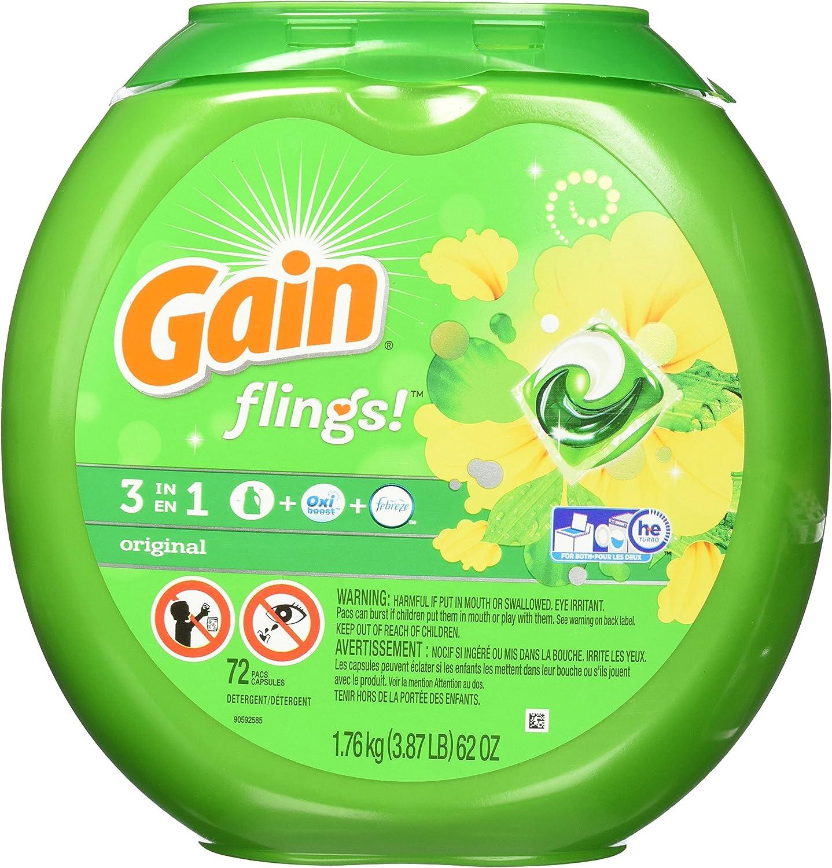Gain PGC86792EA - Flings Laundry Detergent Pods