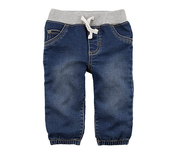 Amazon.com: Carter s Baby Boys Pull On sintética Denim ...