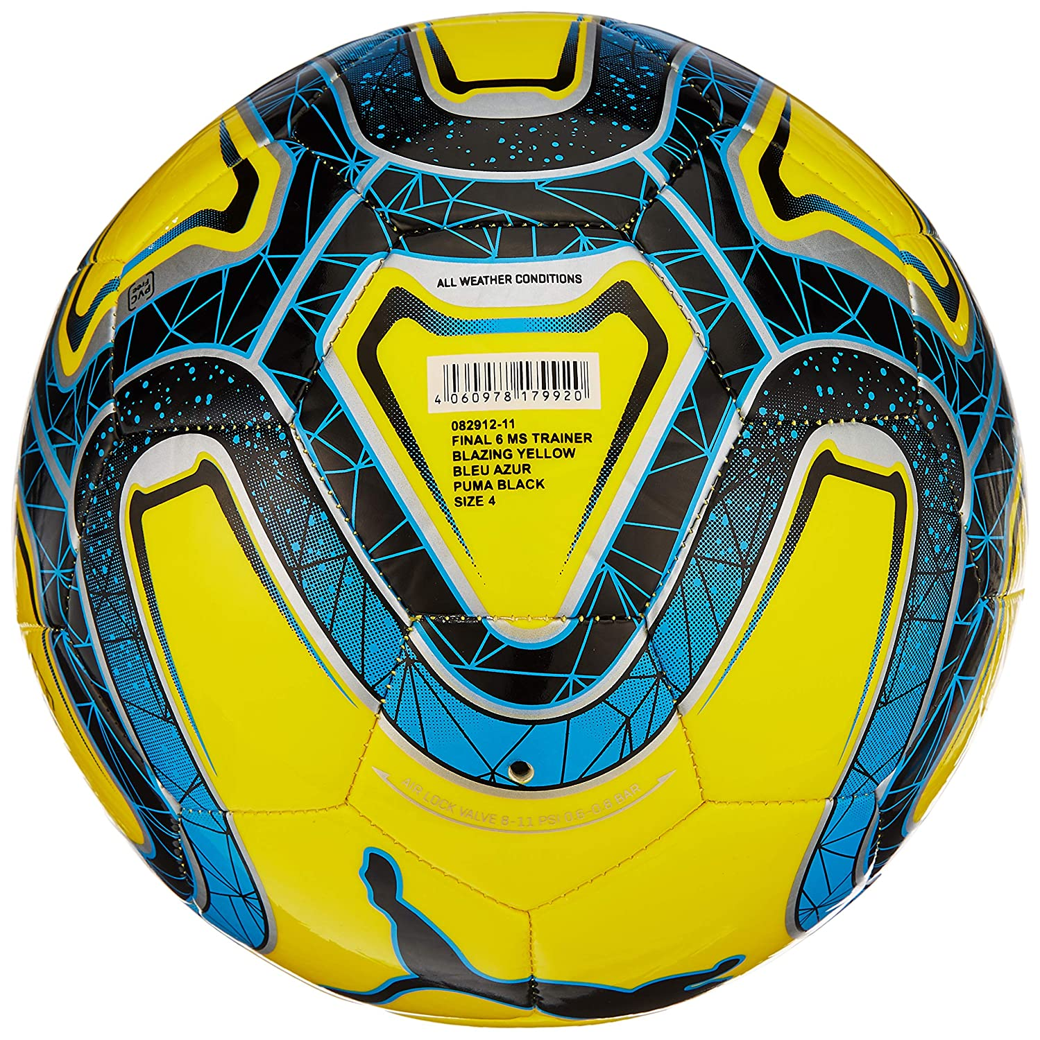 8fbb530057022 Puma Final 6 Ms Trainer Soccer Ball: Amazon.co.uk: Sports & Outdoors