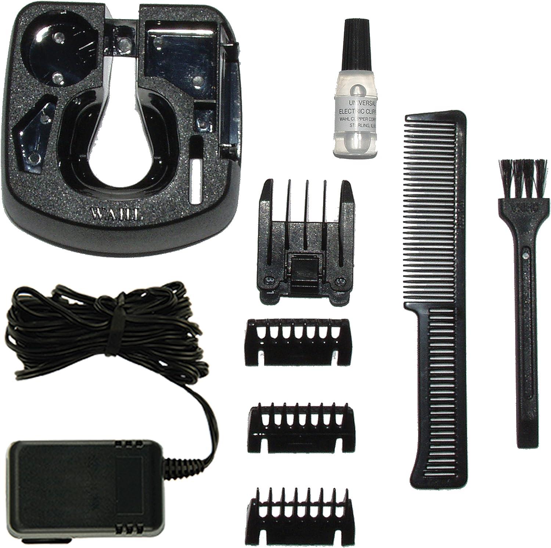 Wahl WA9918-1016 - Afeitadora (Carbon steel, Negro, Gris, 3 cm, 1.2 cm, 1 mm, 60 min): Amazon.es: Salud y cuidado ...