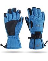 MCTi Waterproof Winter Ski Gloves Snowboarding Cycling Motorcycle Thermal Gloves Men Zipper Pocket