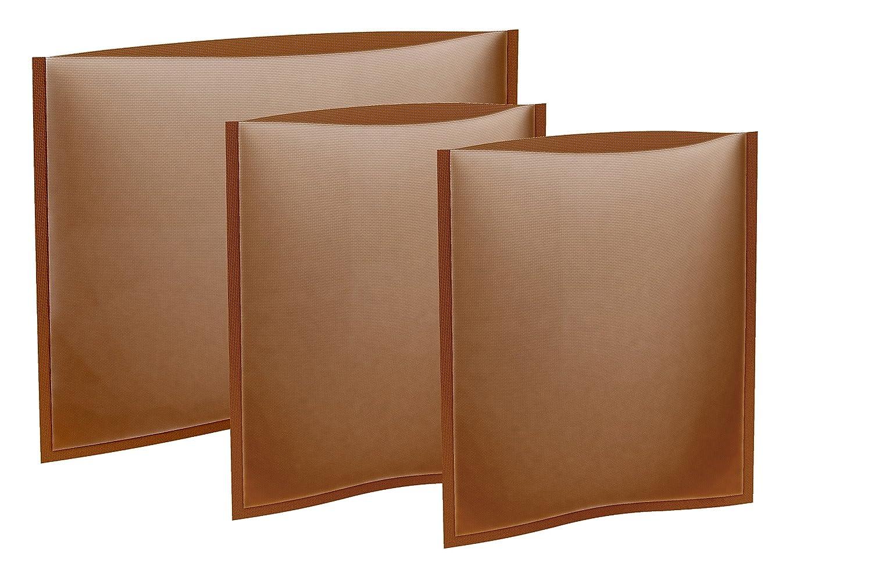 Tescoma 630692.00 Toaster Bags | Reusable 3 pcs Set | Non Stick Toast Bag Made T630692