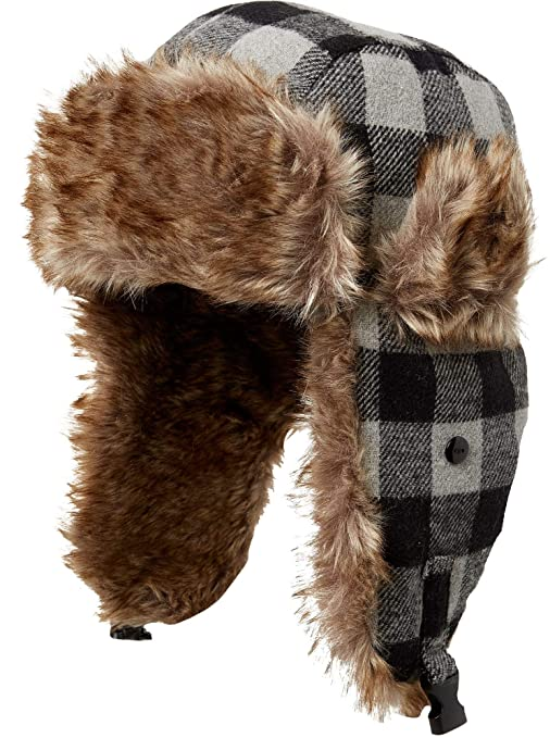 ed68cde770a30 Image Unavailable. Image not available for. Color  Field   Stream Men s  Plaid Trapper Hat ...