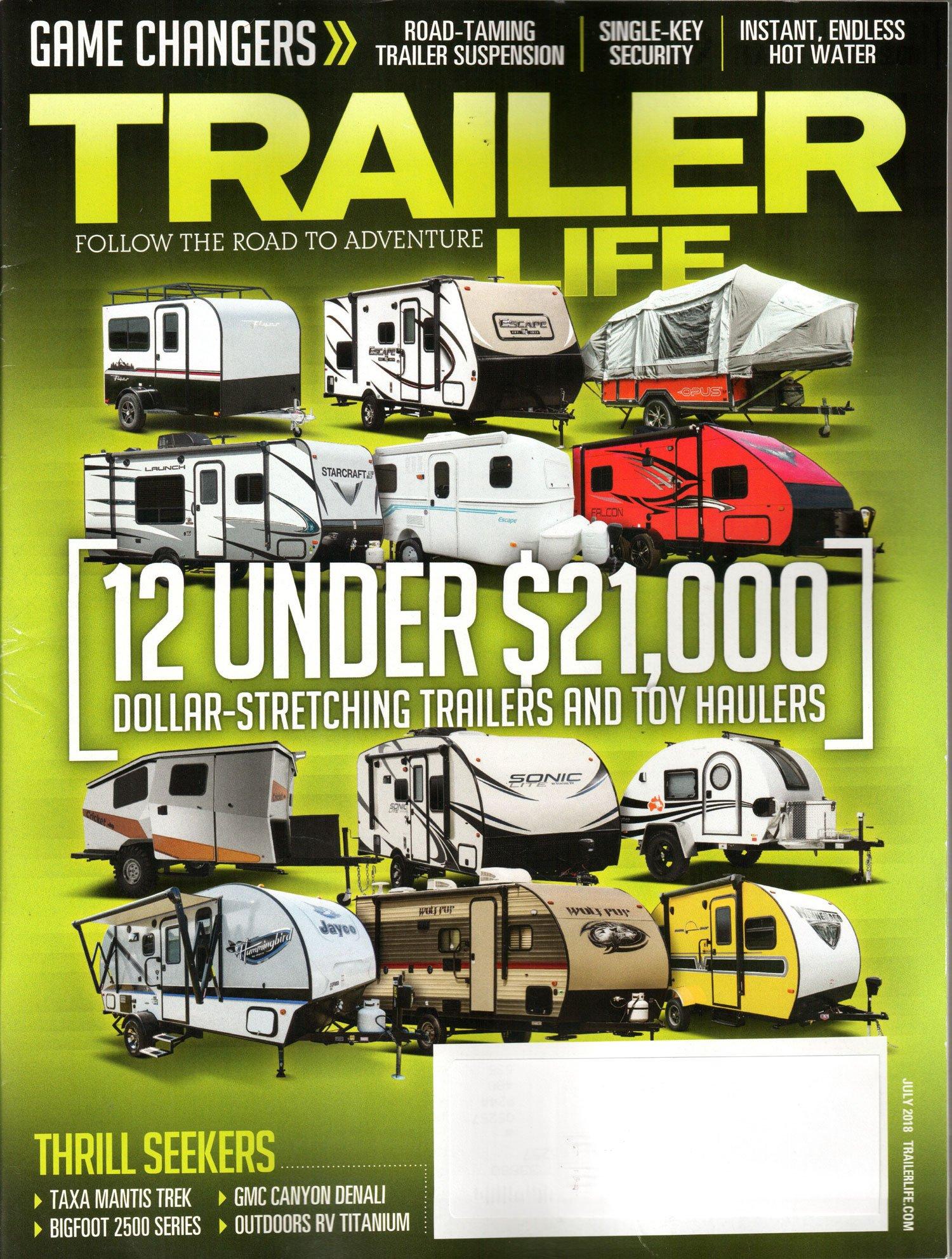 Download Trailer Life Magazine July 2018  12 under $21,000 pdf
