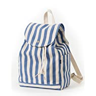 BAGGU Canvas Backpack, Durable and Stylish Simple Canvas Satchel for Daily Essentials