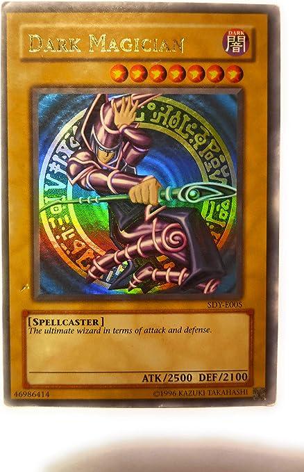 Yugioh Dark Magician SDY-006 Ultra Rare NM