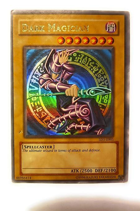 Carte Yu Gi Oh Rare Prix.Yu Gi Oh Dark Magician Sdy 006 Starter Deck Yugi Unlimited Edition Ultra Rare