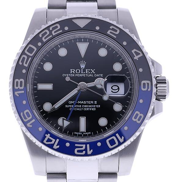 Rolex GMT Master II automatic-self-wind Mens Reloj 116710BLNR (Certificado) de segunda mano: Rolex: Amazon.es: Relojes