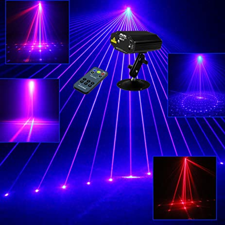Sumger Mini Remote 9 Patterns RB Led Stage Laser Lighting Sound Active Equipment Effect Disco DJ & Amazon.com: Sumger Mini Remote 9 Patterns RB Led Stage Laser ... azcodes.com