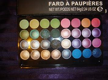 Amazon.com : mac Look in a Box 32 colour eyeshadow palette. : Multicolor Eye Makeup Palettes : Beauty