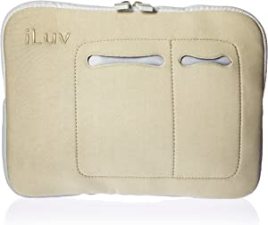 iLuv Mini Laptop Sleeve for Mini Laptops 7-10.2 Inches - Beige (IBG2000BGE)