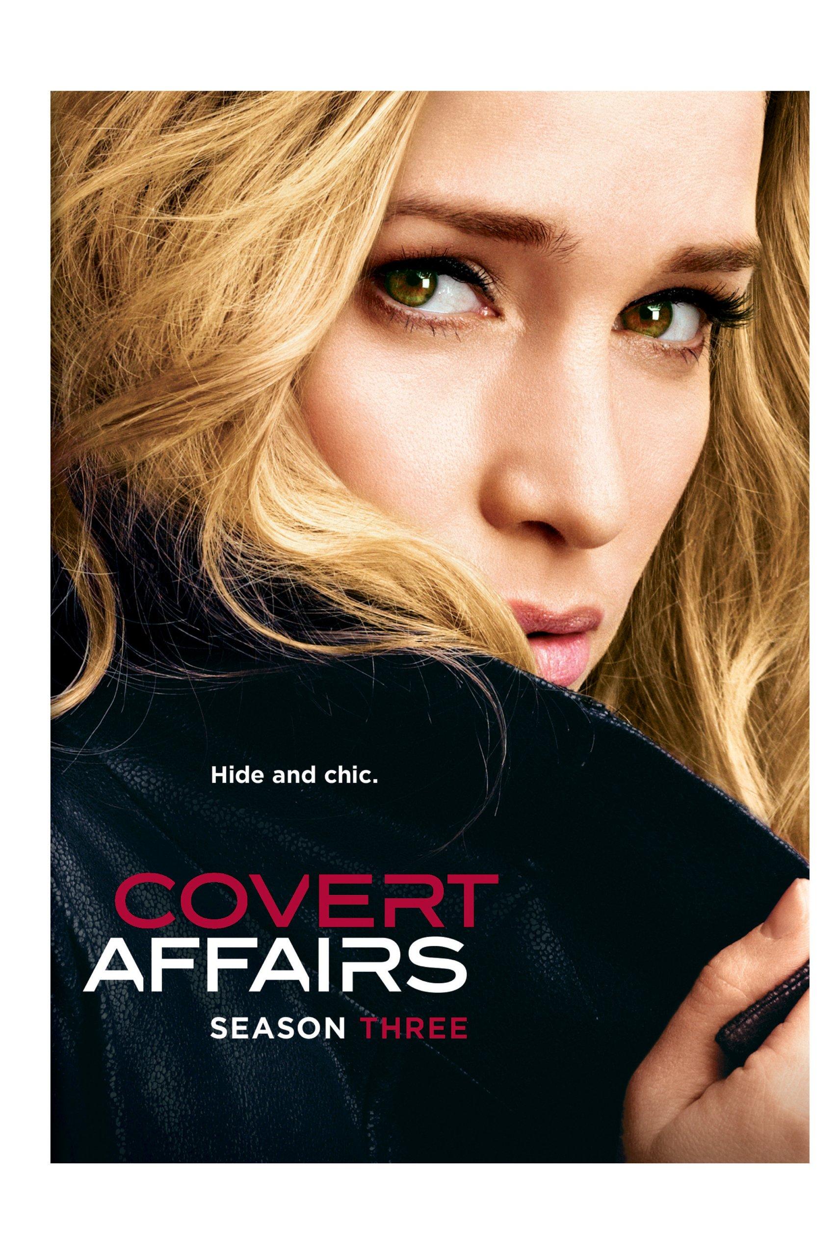 DVD : Covert Affairs: Season Three (Boxed Set, Snap Case, Slipsleeve Packaging, 4 Disc)